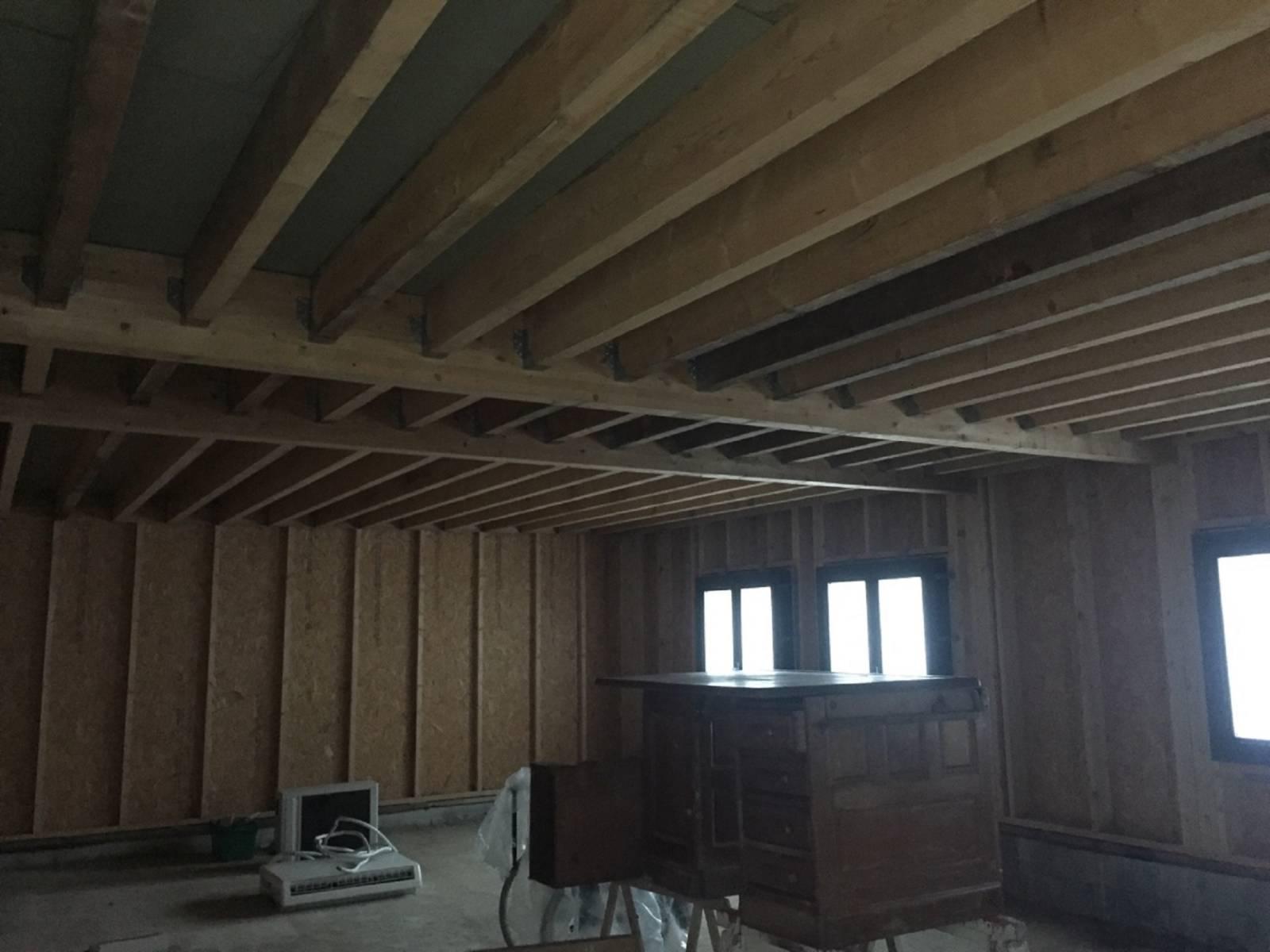 R aliser l 39 agrandissement de sa maison en ossature bois for Agrandissement maison 76