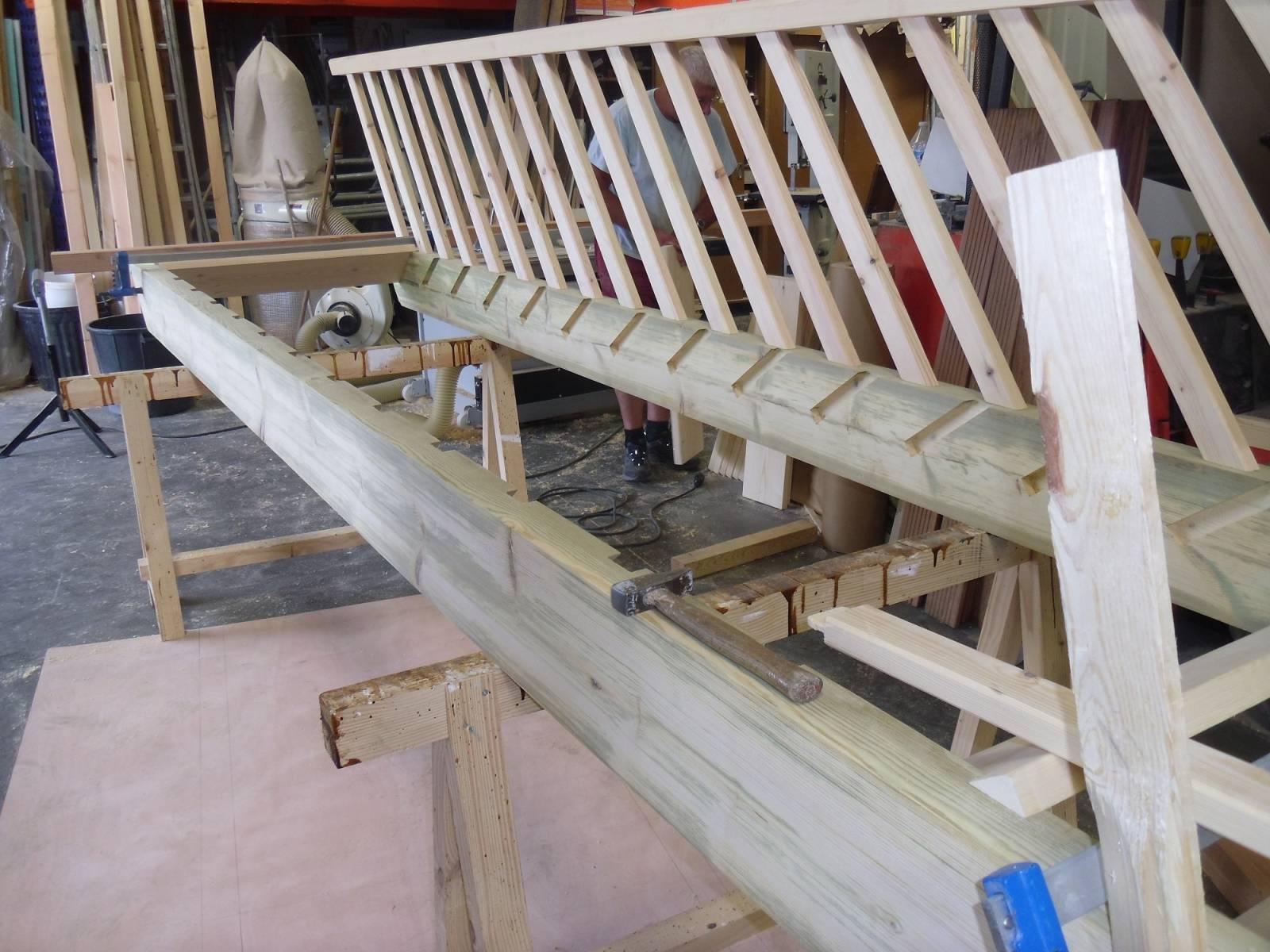 fabriquer son escalier fabriquer son escalier nouveau. Black Bedroom Furniture Sets. Home Design Ideas