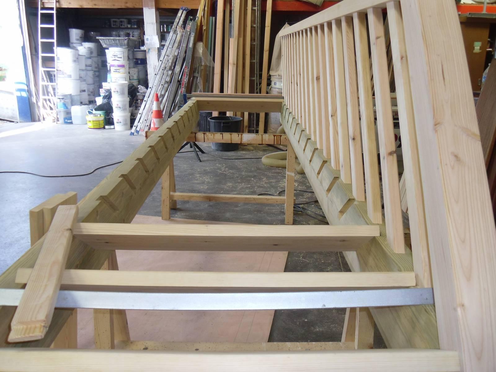 Peinture Pour Escalier Bois fabriquer un escalier par un artisan proche le havre 76